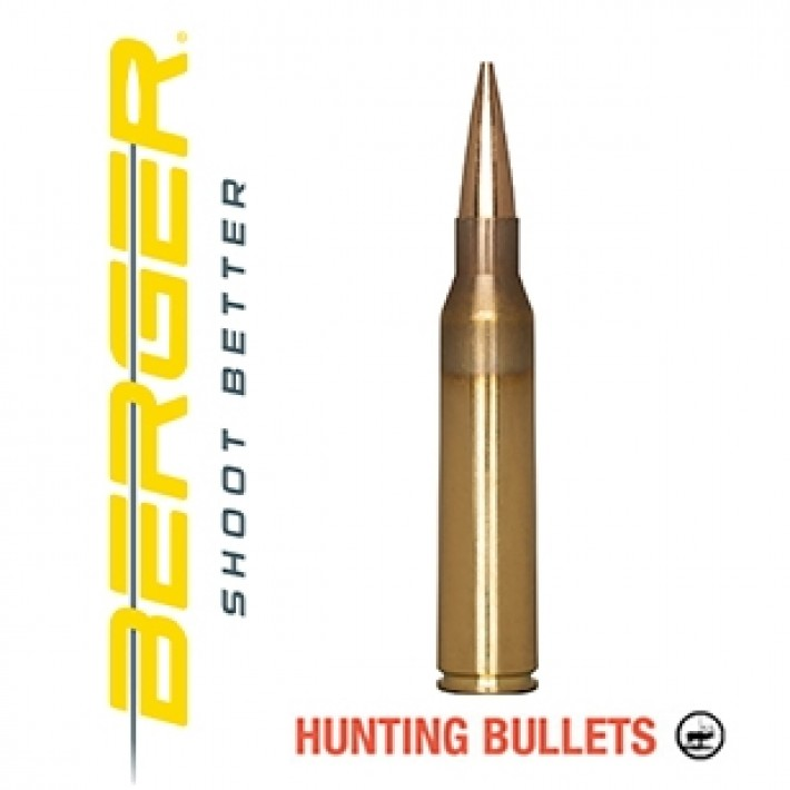 Cartuchos Berger Elite Hunter 338 Lapua Magnum 300 grains BTHP