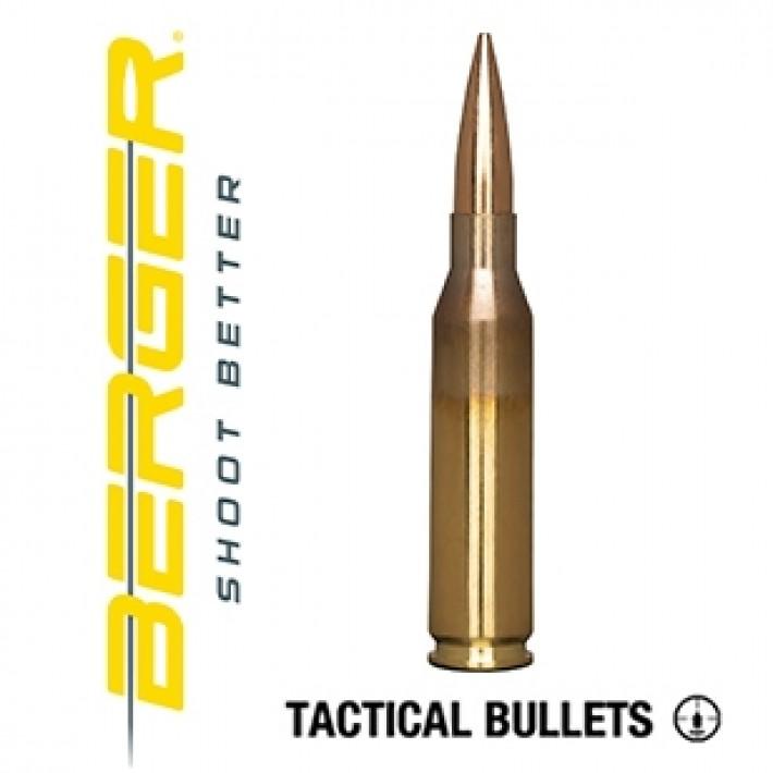 Cartuchos Berger Hybrid OTM Tactical 260 Remington 130 grains BTHP