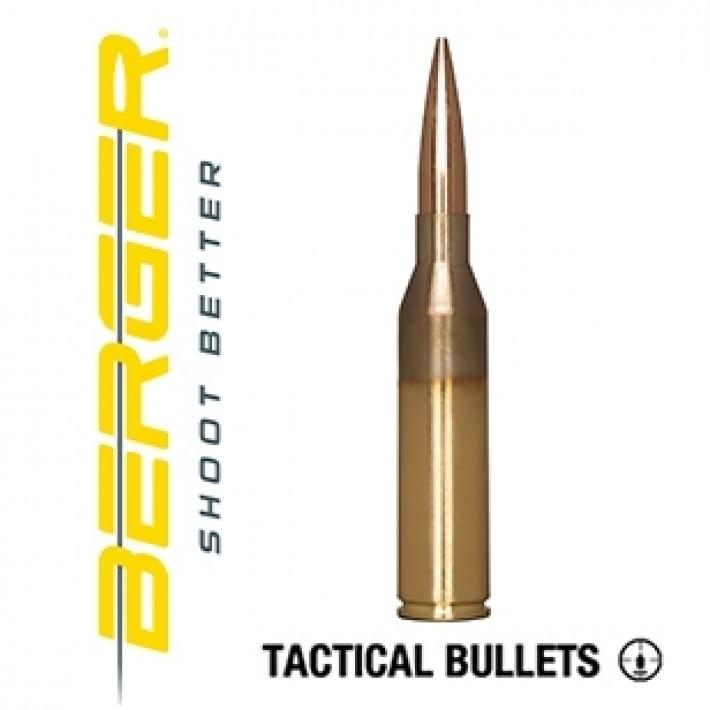 Cartuchos Berger Hybrid OTM Tactical 300 Norma Magnum 230 grains BTHP