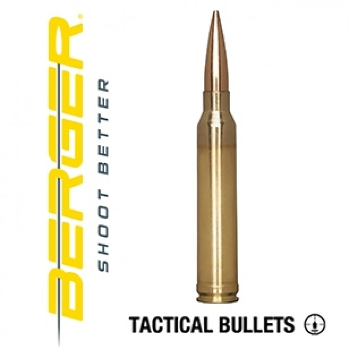 Cartuchos Berger Hybrid OTM Tactical 300 Winchester Magnum 215 grains BTHP