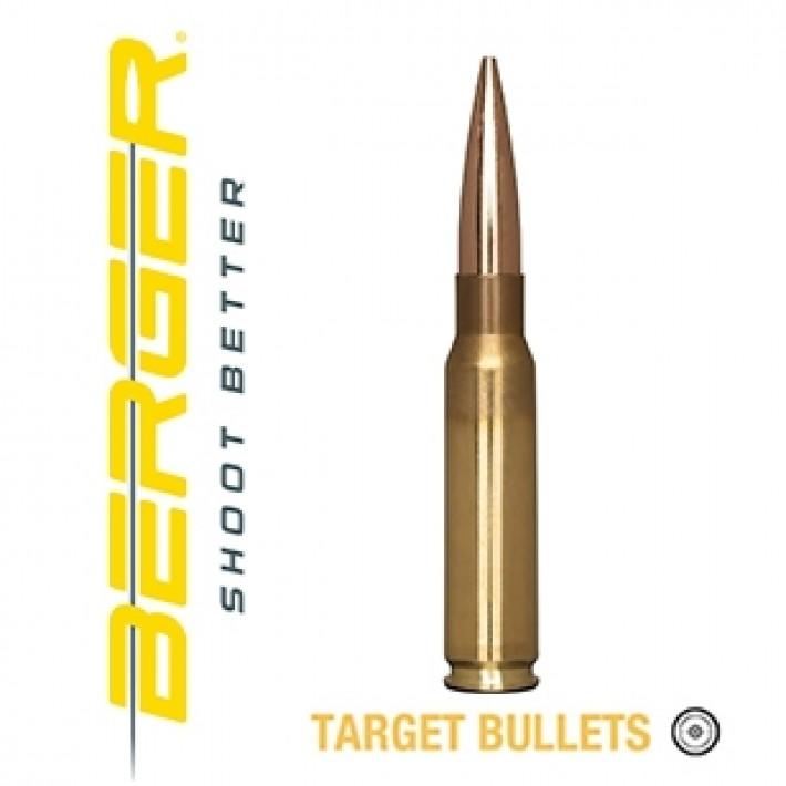 Cartuchos Berger Hybrid Target 308 Winchester 200.20x BTHP