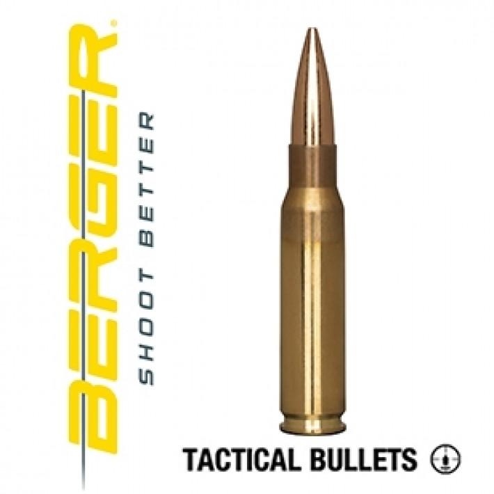 Cartuchos Berger OTM Tactical 308 Winchester 175 grains BTHP