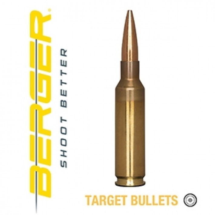 Cartuchos Berger Scenar-L 6.5 Creedmoor 120 grains BTHP