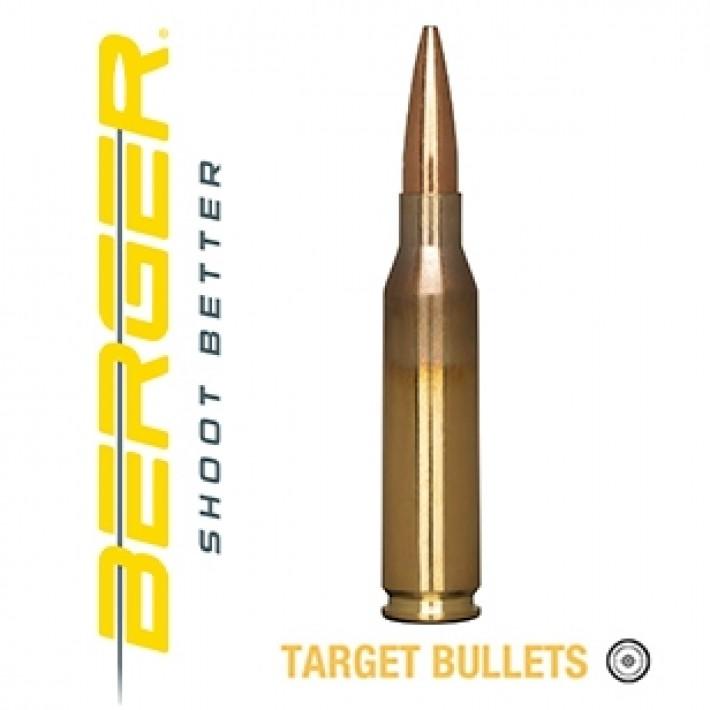 Cartuchos Berger Scenar-L Target 260 Remington 136 grains BTHP