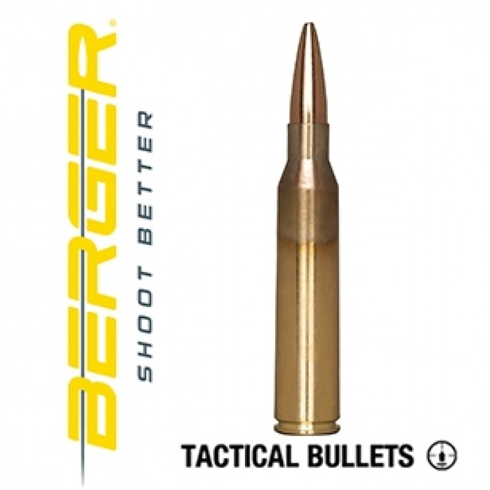 Cartuchos Berger Scenar OTM Tactical 338 Lapua Magnum 300 grains BTHP