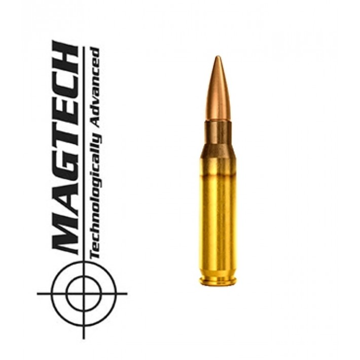 Cartuchos CBC Magtech .308 Winchester 150 grains FMJ