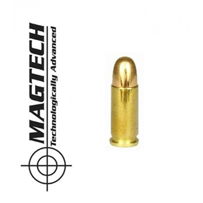 Cartuchos CBC Magtech FMJ .25 ACP 50 grains