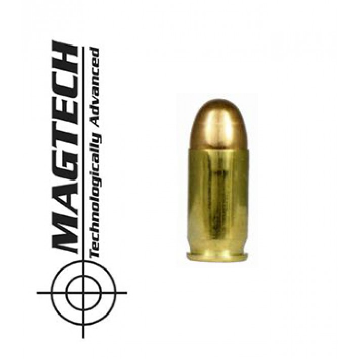 Cartuchos CBC Magtech FMJ .380 ACP 95 grains