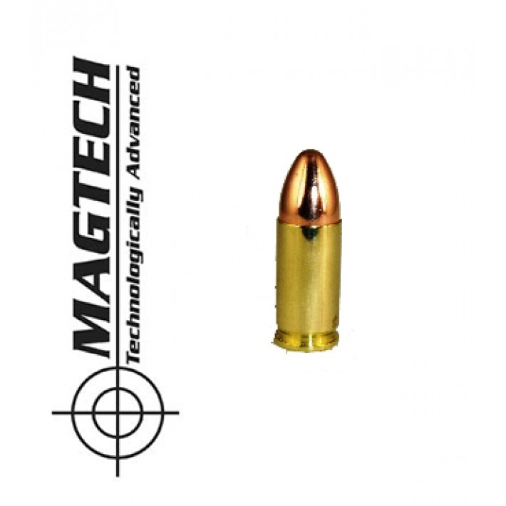 Cartuchos CBC Magtech 9mm Luger 124 grains FMJ