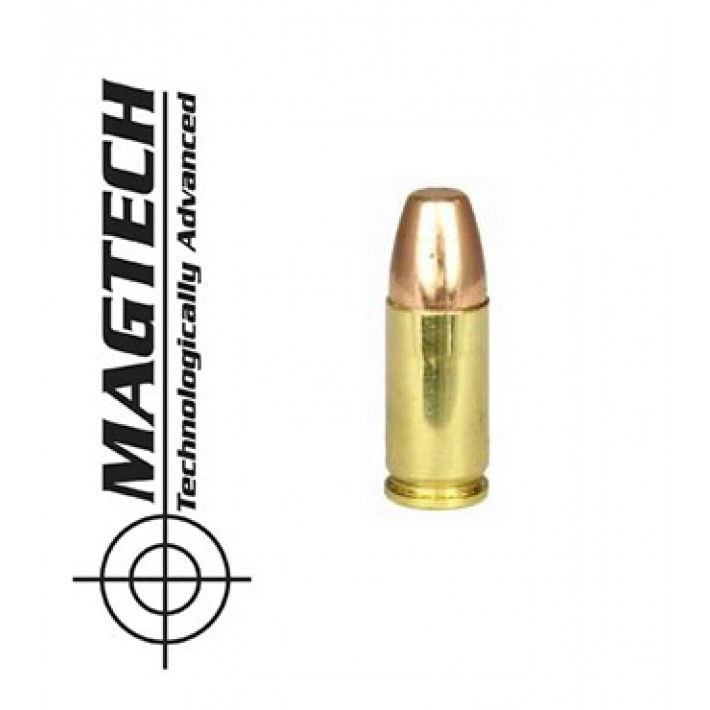Cartuchos CBC Magtech 9mm Luger 147 grains FMJ FP