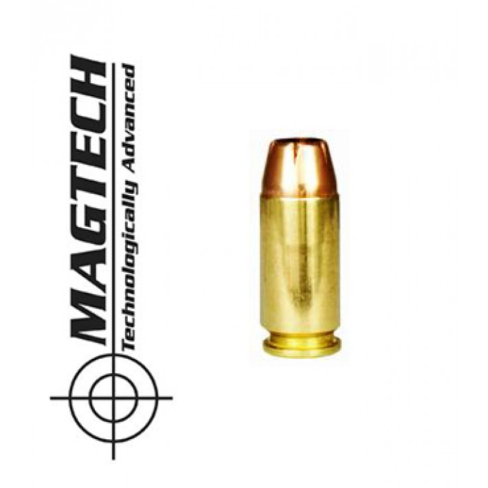 Cartuchos CBC Magtech JHP .40 S&W 180 grains