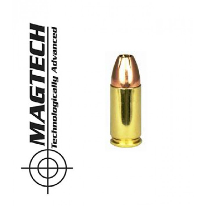 Cartuchos CBC Magtech 9mm Luger 115 grains JHP