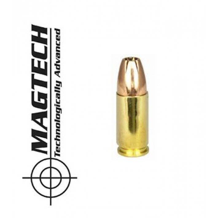 Cartuchos CBC Magtech 9mm Luger 147 grains JHP