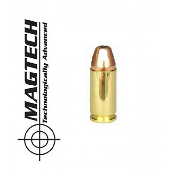 Cartuchos CBC Magtech sin precortes 9mm Luger 95 grains JSP FP