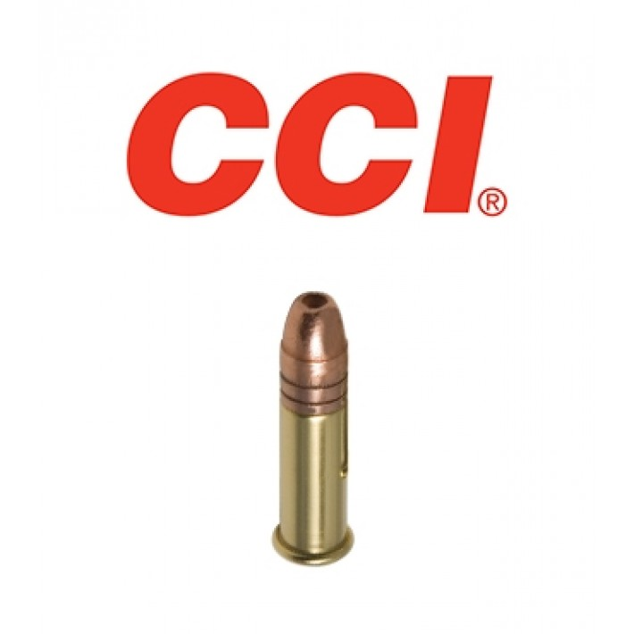 Cartuchos CCI Sub Sonic .22 LR 40 grains Segmented HP