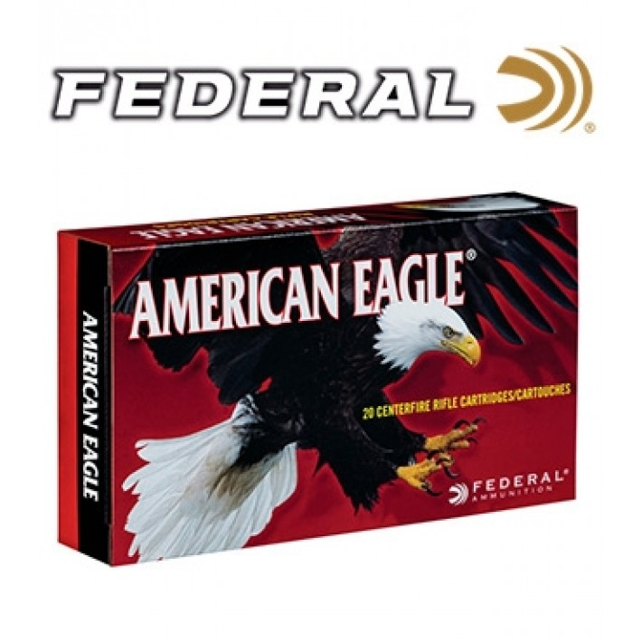 Cartuchos Federal American Eagle 6.5 Creedmoor 120 grains HPBT