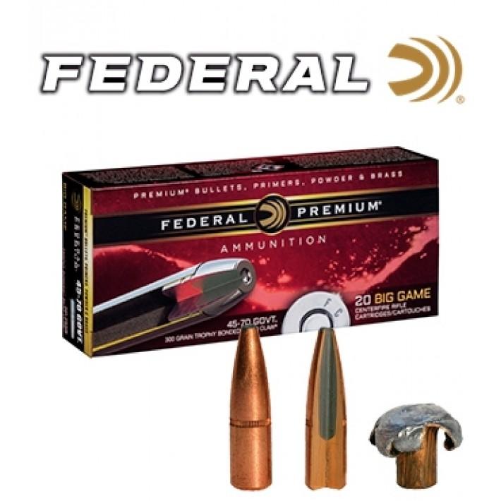 Cartuchos Federal Premium .45-70 Government 300 grains Trophy Bonded Bear Claw