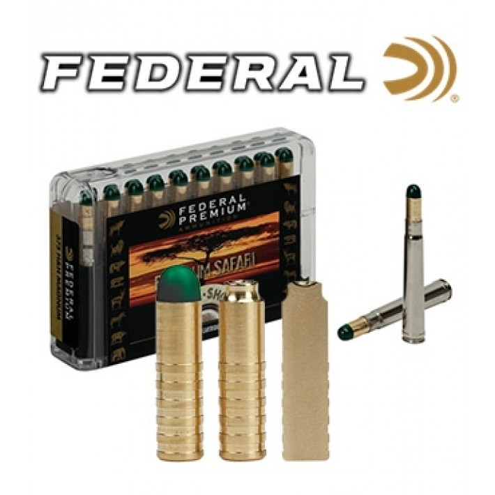 Cartuchos Federal Premium Safari .458 Lott 500 grains Woodleigh Hydro Solid