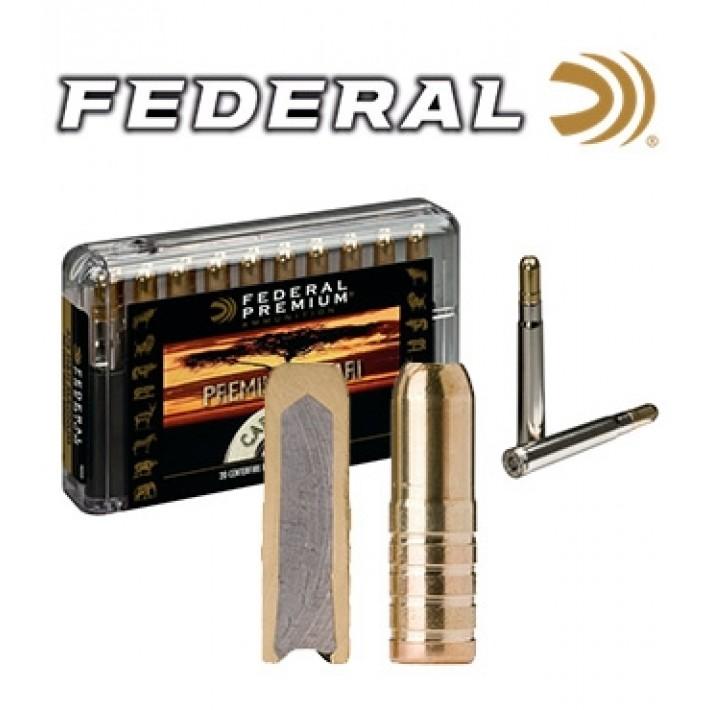 Cartuchos Federal Premium Safari .458 Winchester Magnum 500 grains Trophy Bonded Sledgehammer Solid