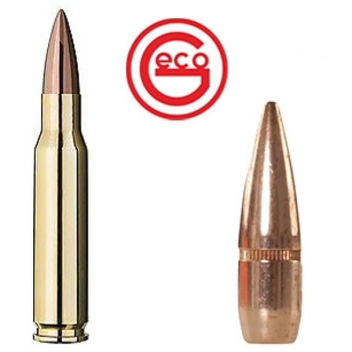 Cartuchos Geco DTX .308 Winchester 150 grains FMJ - 50 unidades