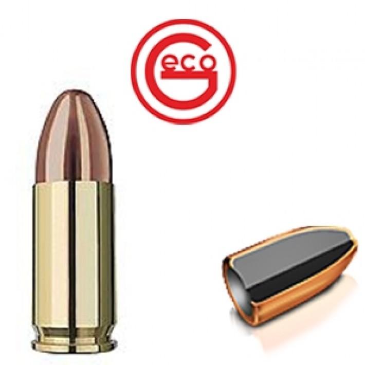 Cartuchos Geco DTX 9mm Luger 115 grains FMJ