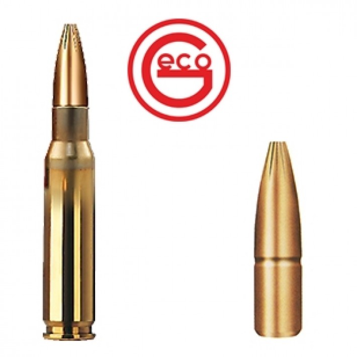 Cartuchos Geco Plus .308 Winchester 170 grains Plus