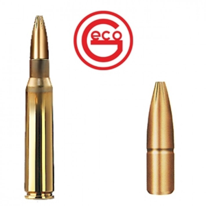 Cartuchos Geco Plus 6.5x55 156 grains Plus