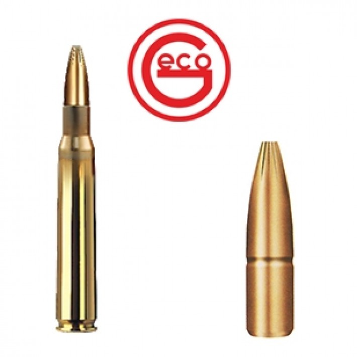 Cartuchos Geco Plus 7x64 Brenneke 170 grains Plus