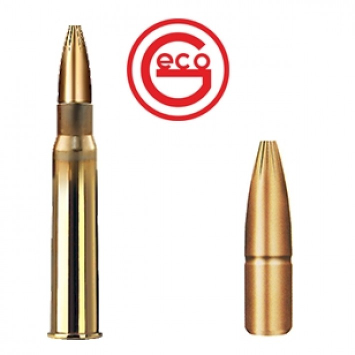 Cartuchos Geco Plus 8x57 JRS Mauser 196 grains Plus