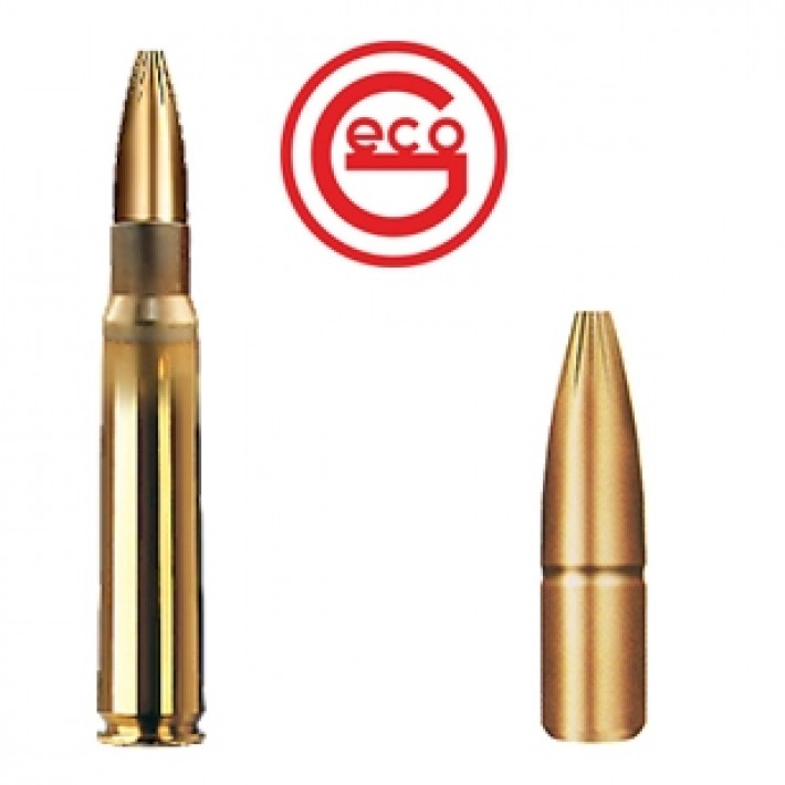 Cartuchos Geco Plus 8x57 JS Mauser 196 grains Plus