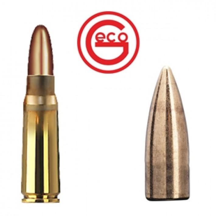 Cartuchos Geco Target 7.62x39 124 grains FMJ