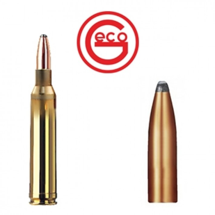 Cartuchos Geco Teilmantel 7mm Remington Magnum 165 grains Teilmantel