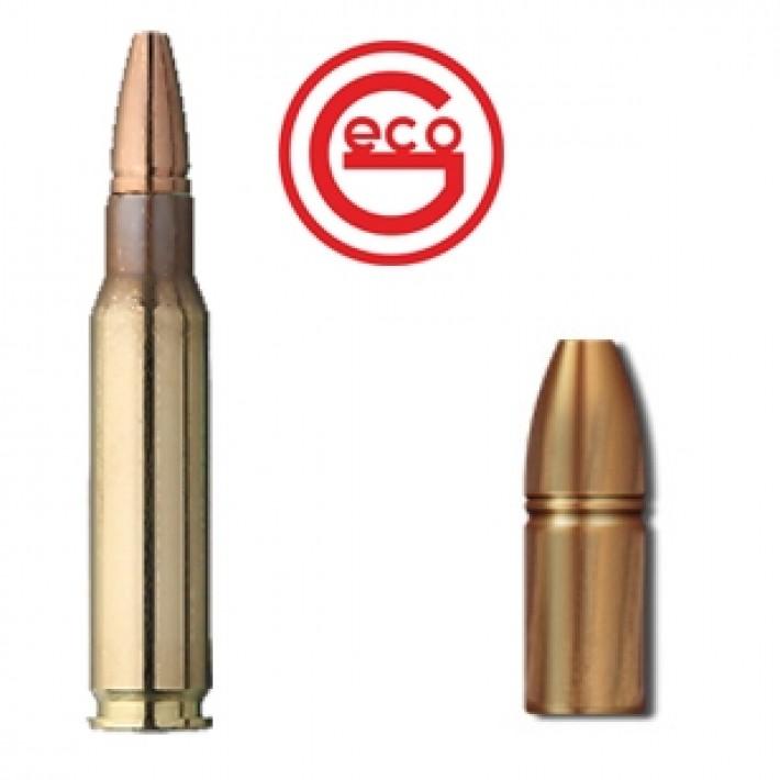 Cartuchos Geco Zero .308 Winchester 136 grains Zero