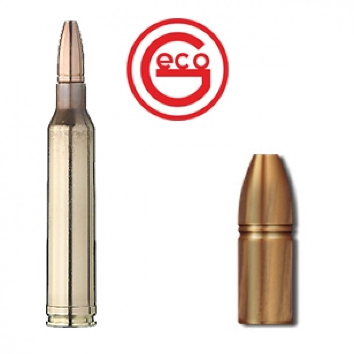 Cartuchos Geco Zero 7mm Remington Magnum 127 grains Zero