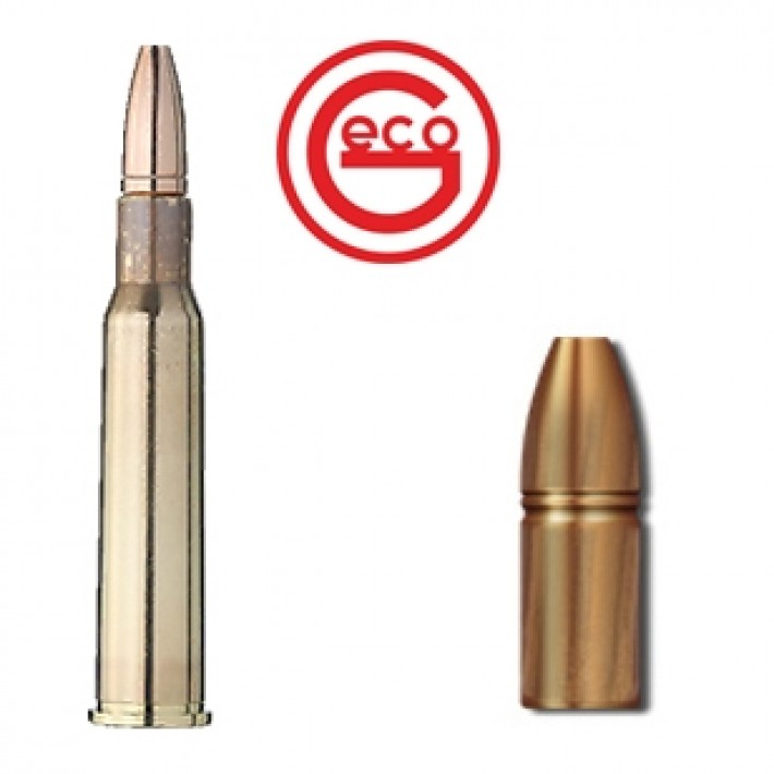 Cartuchos Geco Zero 7x57 R Mauser 127 grains Zero