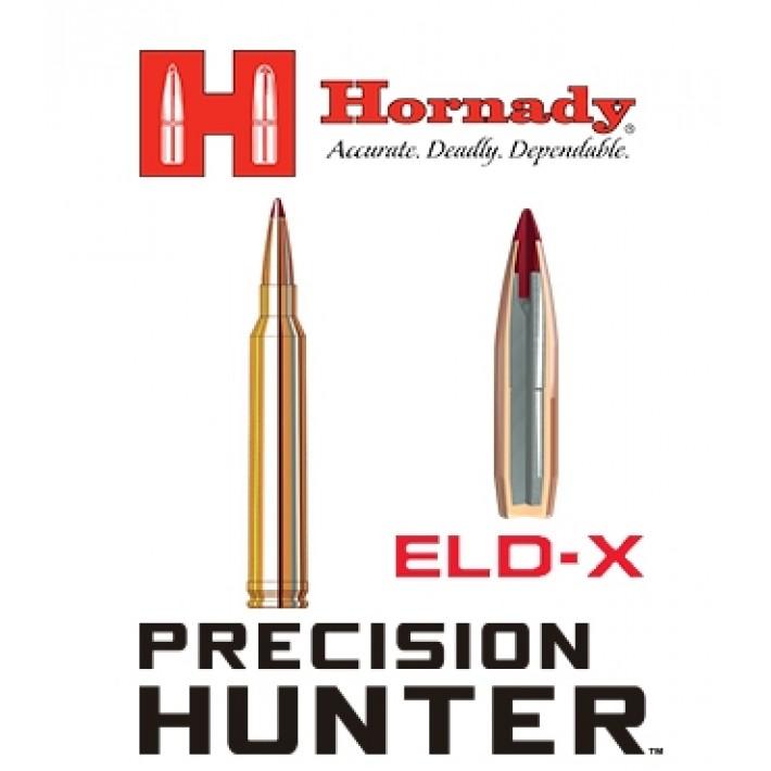 Cartuchos Hornady Precision Hunter 7mm STW 162 grains ELD-X