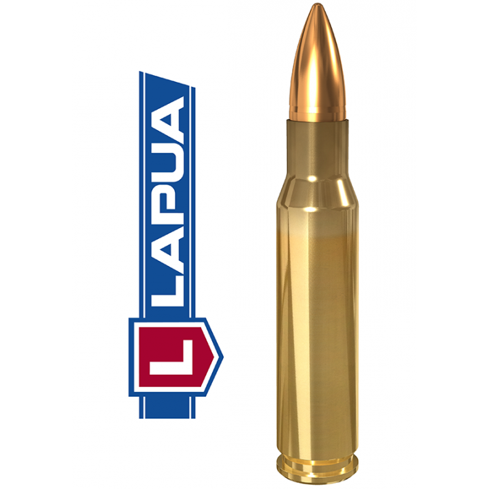 Cartuchos Lapua Full Metal Jacket .308 Winchester 123 grains