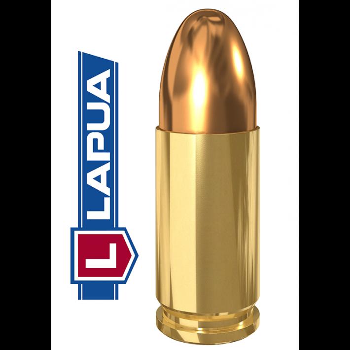 Cartuchos Lapua Full Metal Jacket 9mm Luger 123 grains
