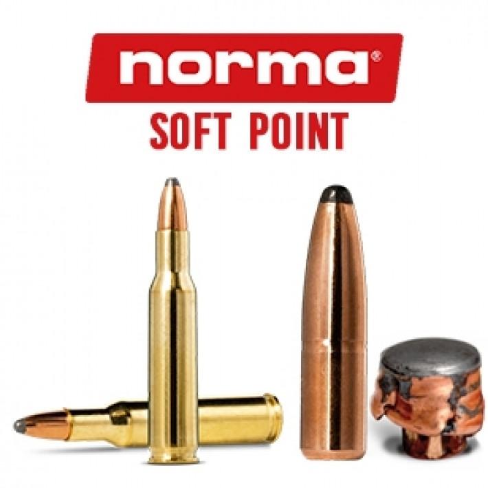 Cartuchos Norma .222 Remington 50 grains Soft Point