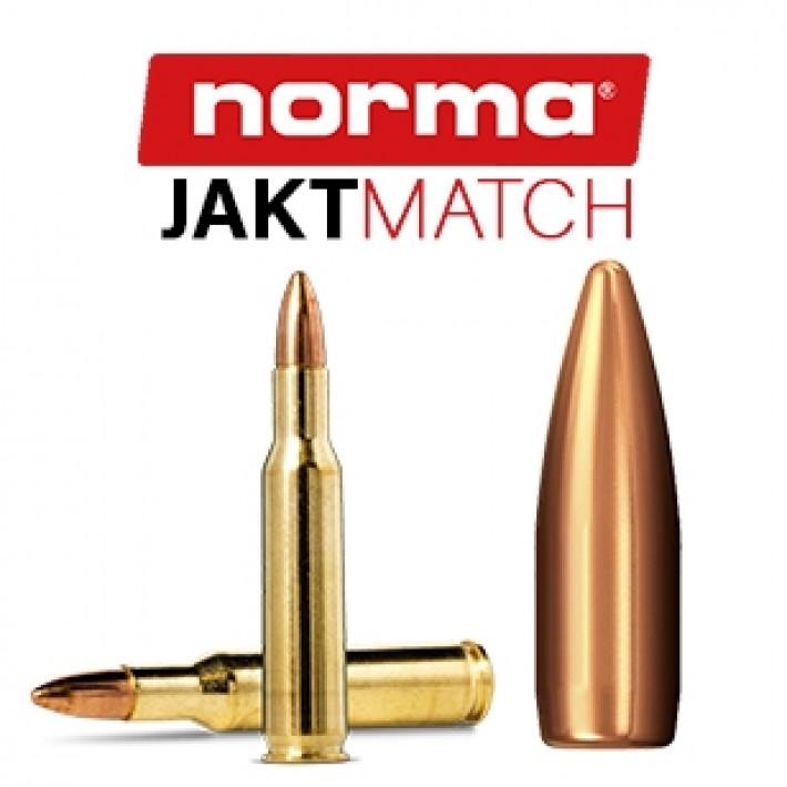 Cartuchos Norma .222 Remington 55 grains Jaktmatch - 50 unidades