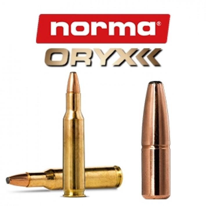 Cartuchos Norma .222 Remington 55 grains Oryx