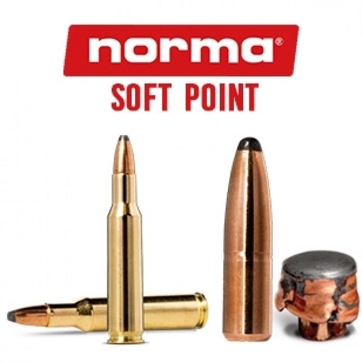 Cartuchos Norma .222 Remington 62 grains Soft Point