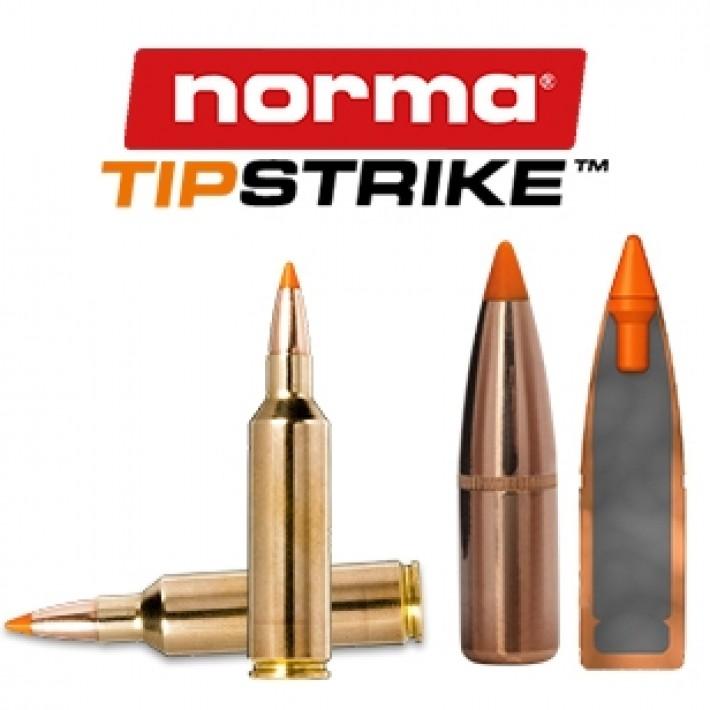 Cartuchos Norma .270 Winchester Short Magnum 140 grains Tipstrike