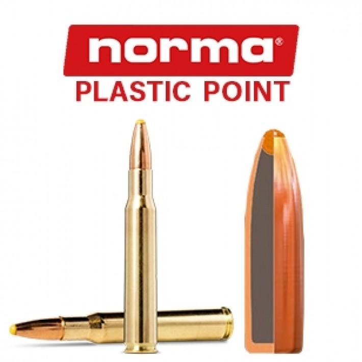 Cartuchos Norma .30-06 Springfield 180 grains Plastic Point