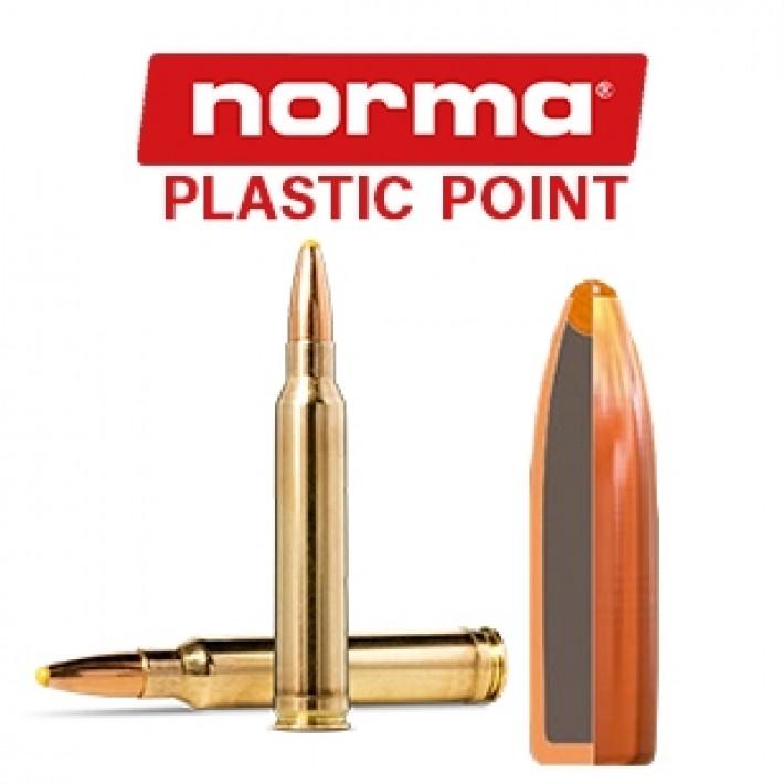 Cartuchos Norma .300 Winchester Magnum 180 grains Plastic Point