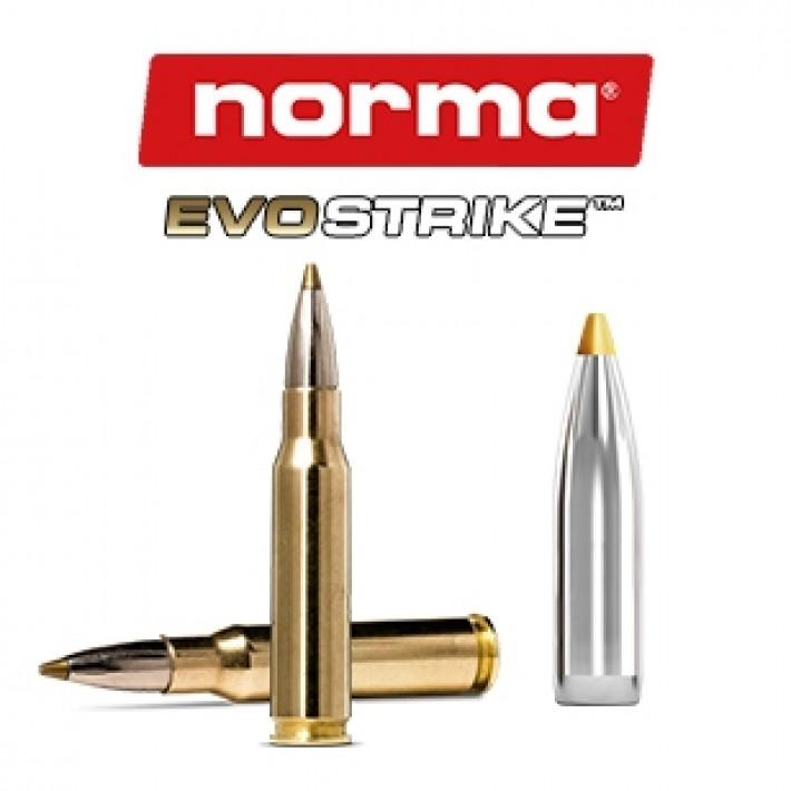 Cartuchos Norma .308 Winchester 139 grains Evostrike