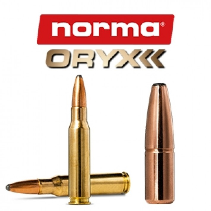 Cartuchos Norma .308 Winchester 165 grains Oryx