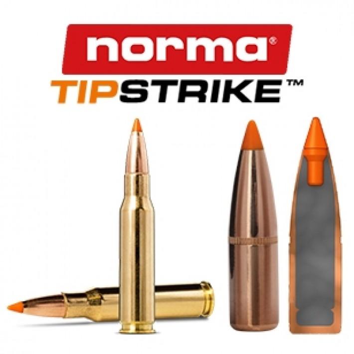 Cartuchos Norma .308 Winchester Magnum 170 grains Tipstrike