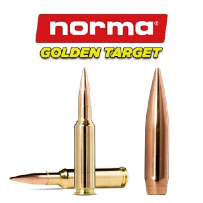 Cartuchos Norma 6.5 Creedmoor 130 grains Golden Target