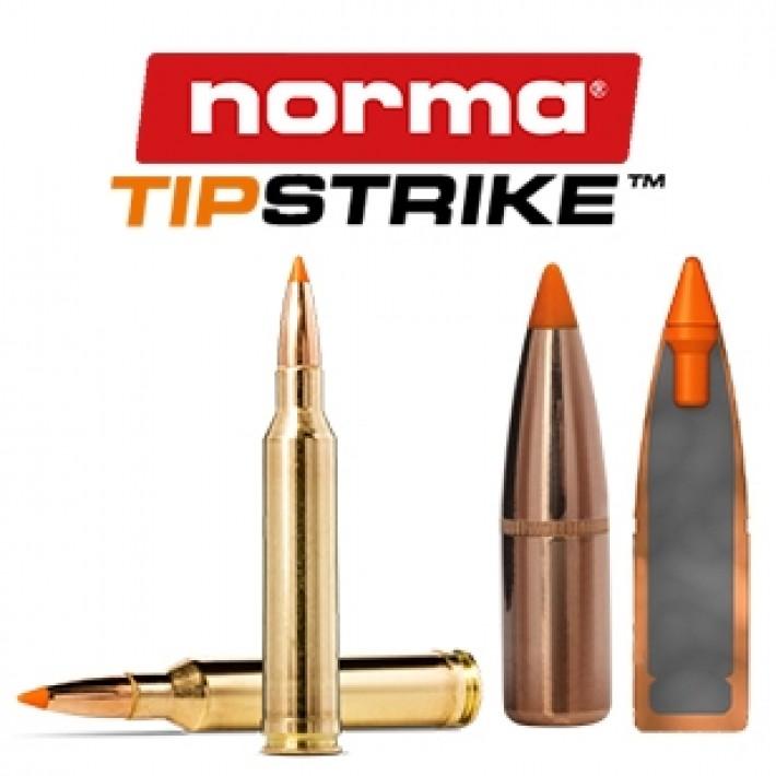Cartuchos Norma 7mm Remington Magnum 160 grains Tipstrike